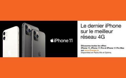 Orange Tunisie commercialise la nouvelle génération d'iPhone 11