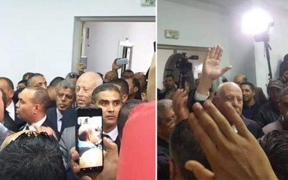 «L'Etat tunisien n'a pas peur du terrorisme», lance Saïed lors de sa visite inopinée à Ouardanine