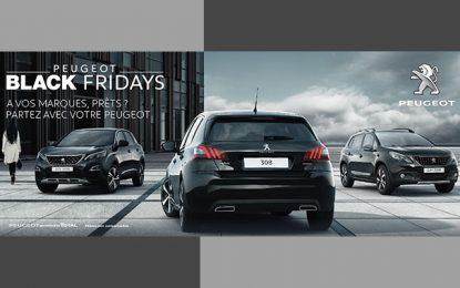 Les Black Fridays de Peugeot Tunisie : des remises allant jusqu'à 6000 DT