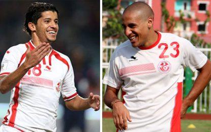 Wahbi Khazri et Saad Bguir de nouveau en équipe de Tunisie