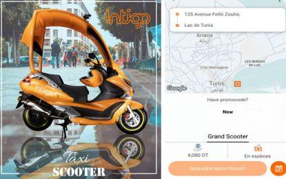Grand-Tunis : Lancement des taxis scooters dès demain, l'Union des taxis individuels irritée (Vidéo)