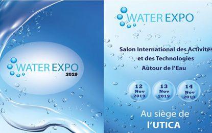 Water Expo, le salon international des activités et des technologies autour de l'eau, se tiendra du 12 au 14 novembre 2019 à Tunis
