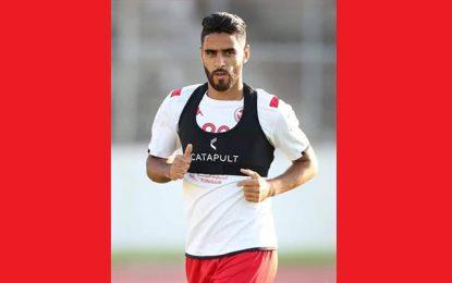 L'attaquant Yassine Chamakhi convoqué en équipe de Tunisie