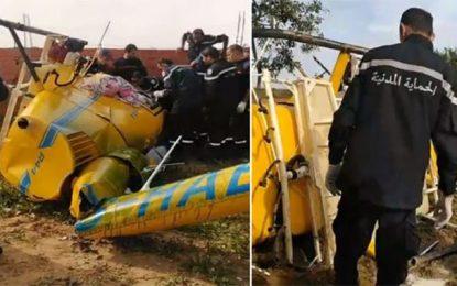 Crash mortel, à la Soukra, d'un avion d'épandage du ministère de l'Agriculture