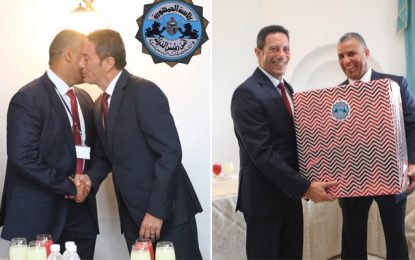 Sécurité présidentielle : Le colonel-major Khaled Yahyaoui rend hommage à son prédécesseur Raouf Mradaa (Photos)