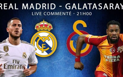 Real Madrid-Galatasaray : match retour en live streaming