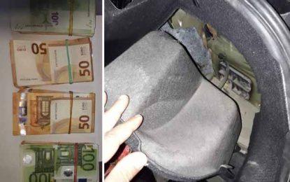 Opération de trafic de devises avortée au Kef : saisie de 41.000 € à Kalaat Senan