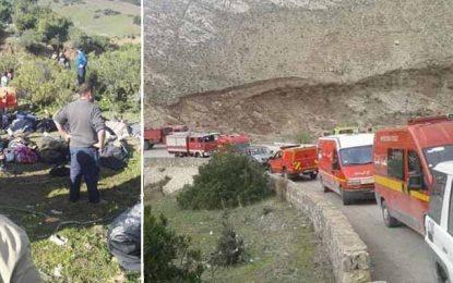 Accident à Aïn Snoussi: Le bilan s'alourdit à 24 morts et 18 blessés, le ministère de la Santé active le plan de gestion de crises