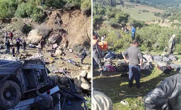 22 morts et 21 blessés dans un tragique accident de bus — Tunisie