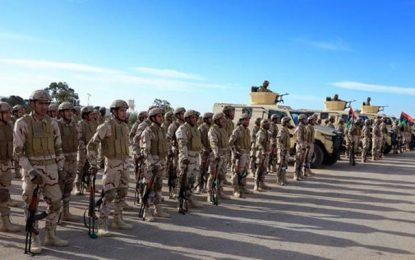 La Tunisie renforce son déploiement militaire à la frontière avec la Libye
