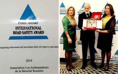 L'Association des ambassadeurs de la sécurité routière (ASR) primée à Londres