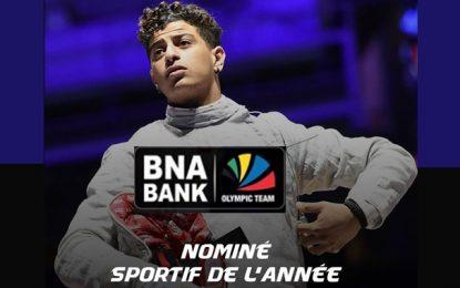 L'escrimeur Ferjani Feres, parrainé par BNA Olympic Team, est nominé au prix honorifique de «Sportif de l'année 2019»
