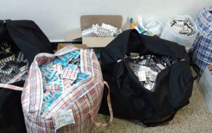 Saisie de 115.590 pilules de drogue à Béja : Deux suspects placés en détention