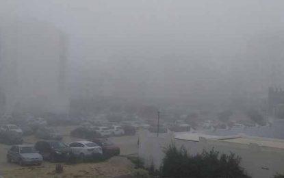 Pluies orageuses, vents et brouillard : Appel à la vigilance sur les routes