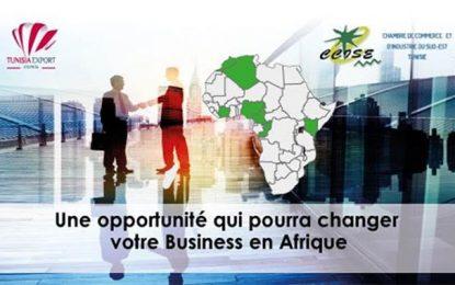Journées de portes ouvertes  avec les représentants du Cepex dans les pays africains