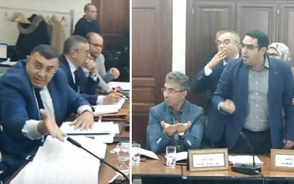 Assemblée : Clash entre Iyadh Elloumi (Qalb Tounes) et Oussama Sghaier (Ennahdha)