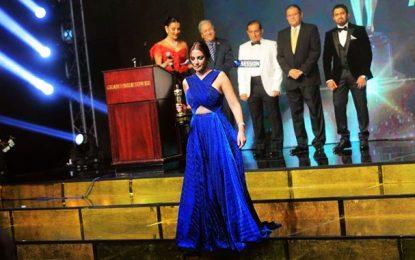 Dorra Zarrouk sacrée meilleure actrice au Festival «Nejm El Arab» (Arab star),  au Caire