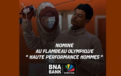 BNA Olympic Team : Ferjani Feres nominé au Flambeau Olympique de la «Haute performance sportive Hommes 2019»