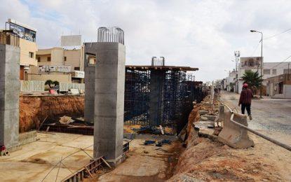 Sfax : fermeture de la route n°4 entre Gremda et Commandant Mohamed