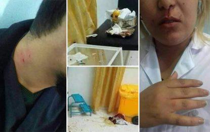 Deux infirmiers agressés à l'hôpital de Grombalia : Manifestation du corps médical