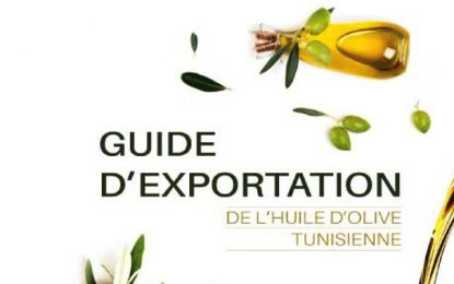 La GIZ réalise le «Guide d'exportation de l'huile d'olive tunisienne» (téléchargeable et gratuit)