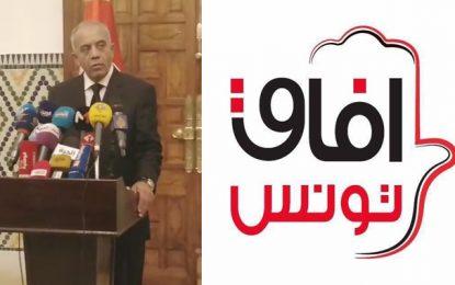 Afek Tounes : «L'annonce de Jemli d'un gouvernement de compétences indépendantes vise à cacher des alliances non déclarées»