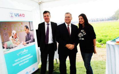 Jendouba : l'ambassadeur  Blome chez l'agripeneure Hayfa Khalfaoui