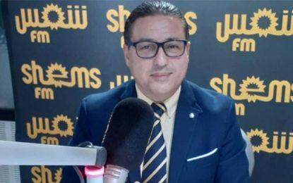 Hichem Ajbouni : «Ennahdha et Qalb Tounes, c'est kif-kif»