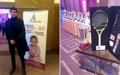 Achat de 2 raquettes du N°1 Mondial Raphaël Nadal, en faveur de l'Association Selima d'aide aux enfants cancéreux