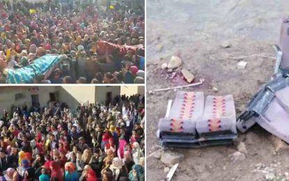 Accident de Amdoun : Deux sœurs et leur cousine accompagnées à leur dernière demeure à Jedelienne (Vidéo)