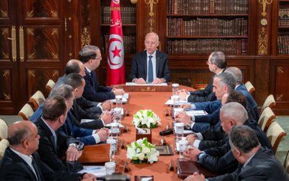 Kaïs Saïed préside une réunion sécuritaire au palais de Carthage (Vidéo)
