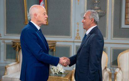 Composition du gouvernement : Jemli demande à Saïed une prolongation du délai