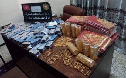 Plus de 25.000 pilules de drogue saisies à Médenine