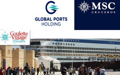 Global Ports Holding PSC et MSC Cruises SA ont acheté la société Goulette Shipping Cruises