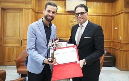 Mehdi Ayachi, vainqueur de «The Voice», honoré par le ministère des Affaires culturelles (Photos)