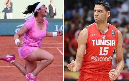 Tunisie : Ons Jabeur et Salah Mejri élus meilleurs sportifs de l'année 2019