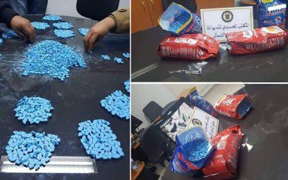 Port de la Goulette : Deux voyageurs en provenance de Gênes, arrêtés en possession de 18.000 pilules d'ecstasy