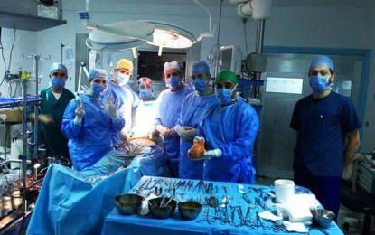 L'hôpital Rabta de Tunis se félicite d'avoir réussi 7 transplantations cardiaques en 9 mois malgré les contraintes