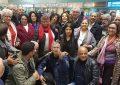 La militante des droits de l'homme, Radhia Nasraoui, en France pour se faire soigner  (Photos)