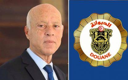 Répondant aux accusations du président Saied, le  syndicat de la douane : «Venez voir nos efforts!»