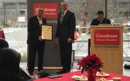 Le Tunisien Samir Trabelsi distingué par la Goodman School of Business au Canada