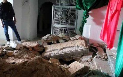 Sbiba : Le mausolée de Sidi Amor Smati profané (Photos)