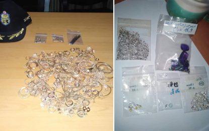 Sfax : Saisie d'or et de diamants d'une valeur de 380.000 dinars (Photos)