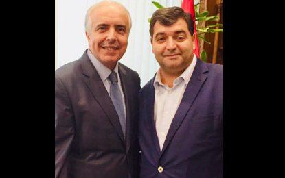 René Trabelsi présente ses condoléances à la famille de son «frère et ami Slaheddine Maaoui»