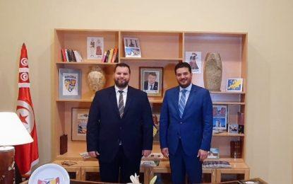 Inauguration du consulat honoraire de la Roumanie à Hammamet