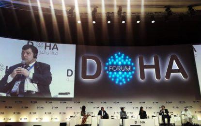 René Trabelsi, au Forum de Doha, parle de la sécurité, du tourisme durable et de l'environnement