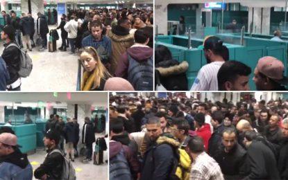 Foire d'empoigne à l'aéroport de Tunis-Carthage (vidéo)