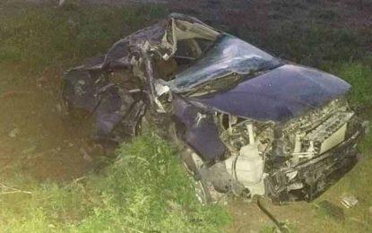 Monastir : Deux morts dans un accident de la route à Jemmal