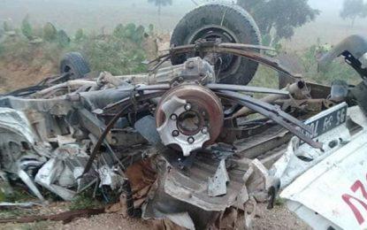 Sfax : 9 blessés dans un grave accident de la route à cause du brouillard