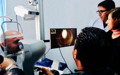 L'application numérique pour la santé visuelle lancée ce jeudi 12 décembre 2019 à Kasserine